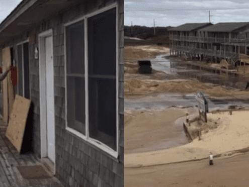 After Matthew - Cape Hatteras Motel