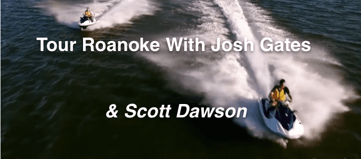 Josh Gates Scott Dawson Roanoke - Cape Hatteras Motel