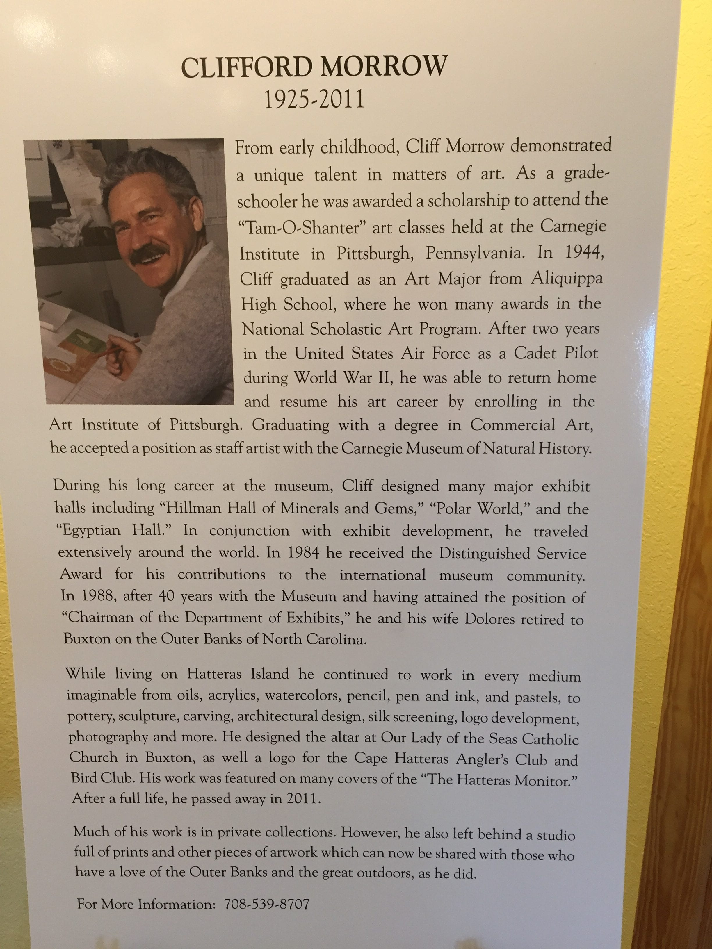 Honoring Clifford Morrow - Cape Hatteras Motel
