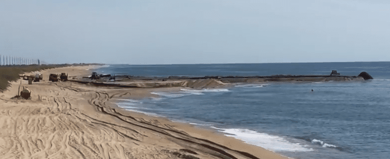 Launch Pad Buxton Beach Nourishment - Cape Hatteras Motel