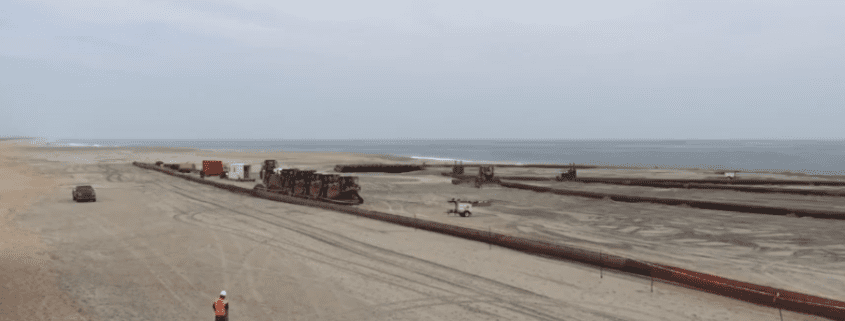 Buxton Beach Nourishment Pumping Paused - Cape Hatteras Motel