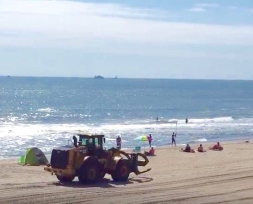 Buxton Beach Nourishment Update VIDEO - Cape Hatteras Motel