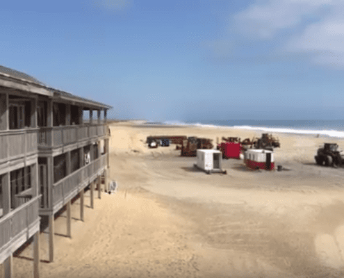 Buxton Beach Re-Nourishment Video Update - Cape Hatteras Motel