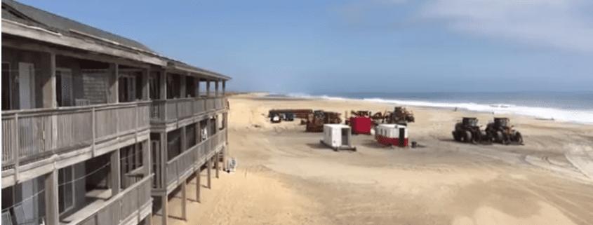 Buxton Beach Re-Nourishment Video Update - Cape Hatteras Motel