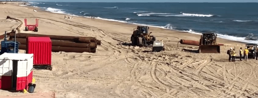 Buxton Beach Re-nourishment Video - Cape Hatteras Motel